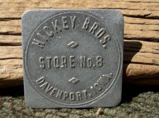 1900s Davenport Iowa Ia (scott Co Mississippi Riv)
