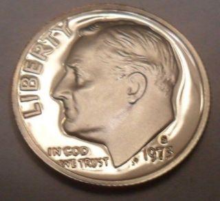 1973 S Roosevelt Proof Dime photo