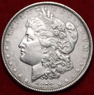 1878 Philadelphia Silver Morgan Dollar photo