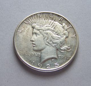 1925 Peace Silver Dollar photo