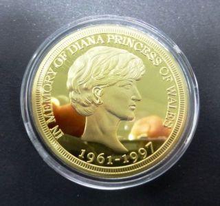Diana Commemorative 1 Oz.  999 Gold Coin photo