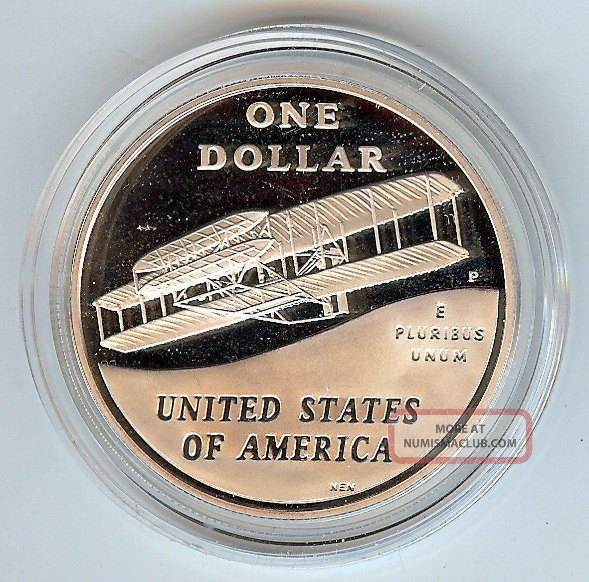 Modern Commemorative Half Dollar  2E3! Proof 2003 First Flight Centennial U.S