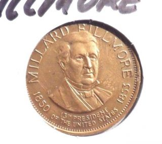 Millard Fillmore (president 13) Commemorative Token Coin photo