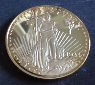 1933 Gold Double Eagle Copy - - - Coin.  St.  Gaudens Design photo