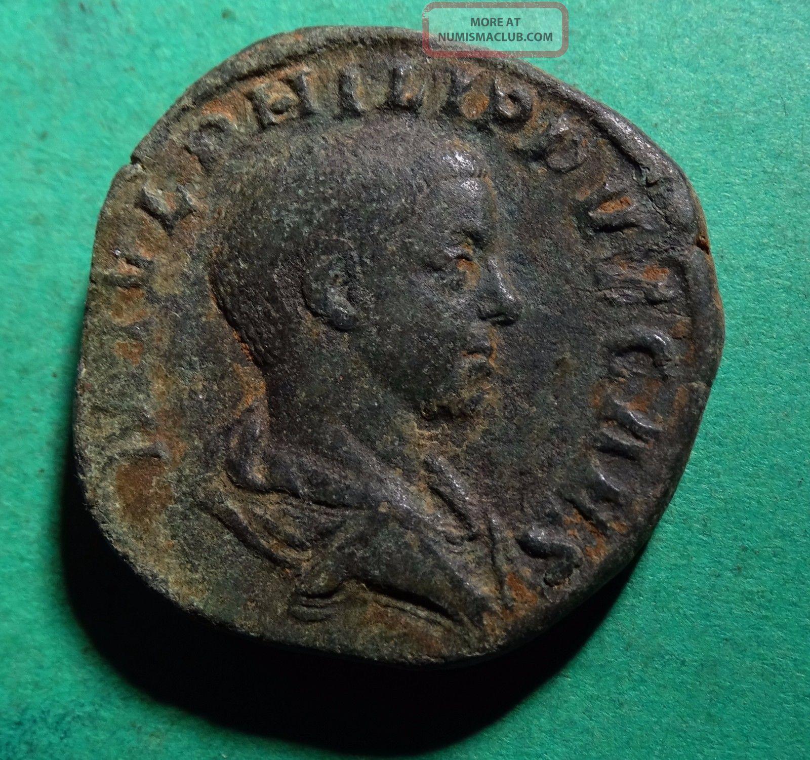 sestertius roman coin