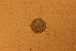 1871 3 Cent Nickel photo