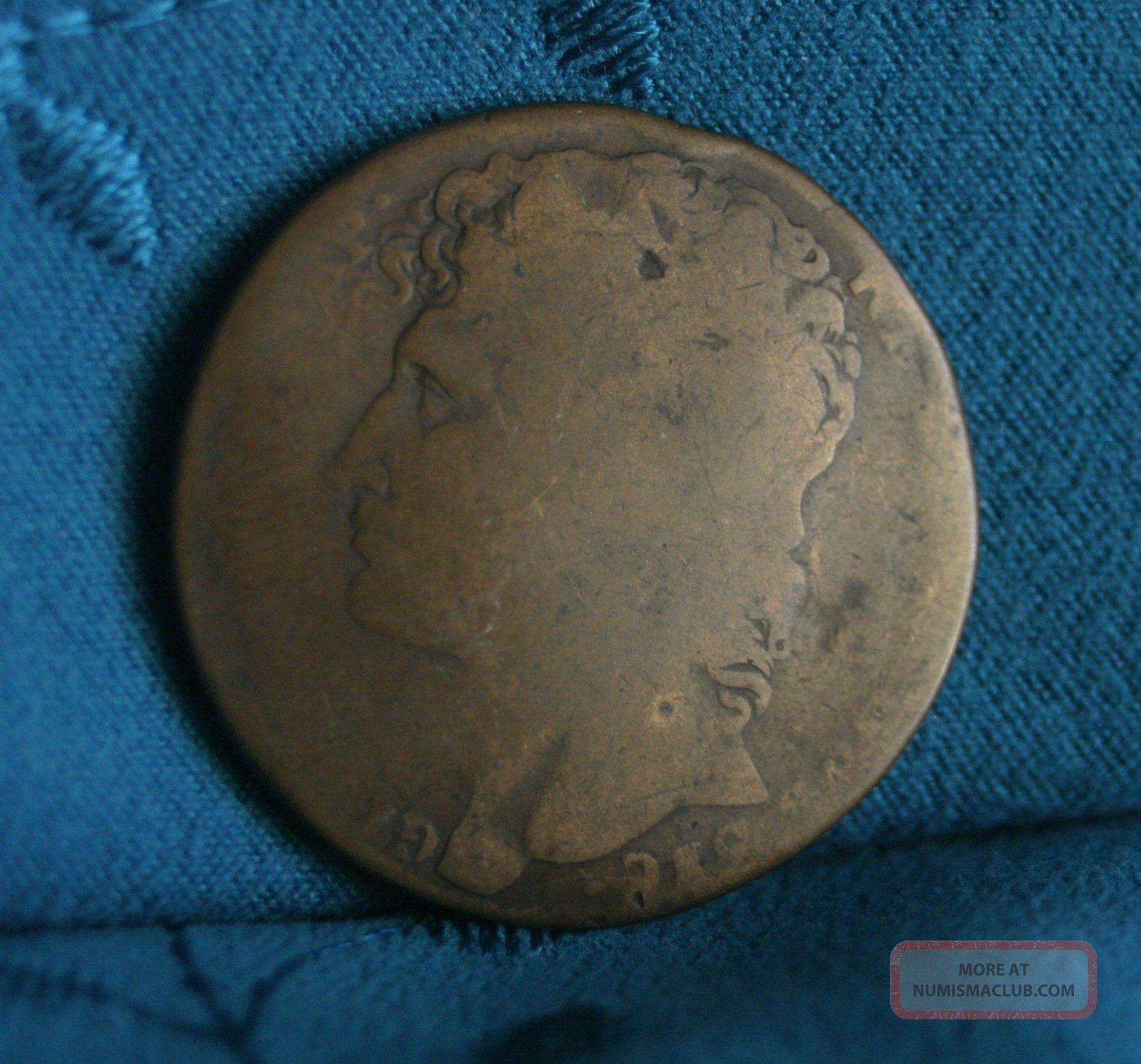 Naples Sicily 1810 Italian States 3 Grana World Coin Italy Joachim Murat Rare Italy, San Marino, Vatican photo