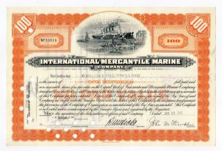 International Mercantile Marine Co.  - 100th Anniversary Of Sinking Of Titanic photo
