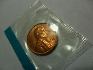 1970 S Lincoln Memorial Cent / Penny Small Date Cello 2 photo