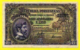 Portugal - Angola 2,  5 Angolares 1942 E/f, photo