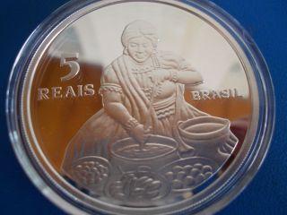 Official Commemorative Silver Coin Of The Historic Centre Of Salvador - Unesco photo