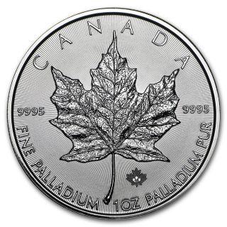 2015 Canada 1 Oz Palladium Maple Leaf Bu - Sku 89806 photo