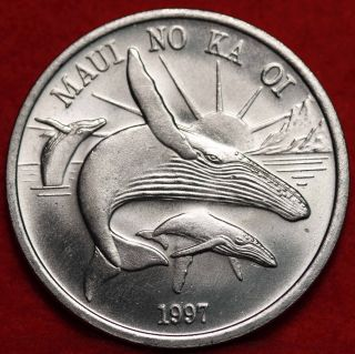 Uncirculated 1997 Maui Trade Token photo