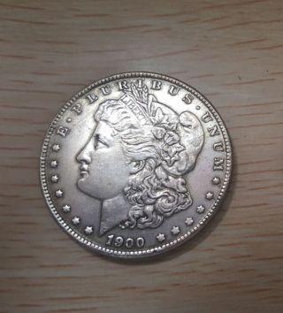 1900 United States Of America.  E.  Pluribus.  Unum.  One Dollar photo