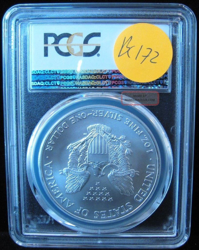 2003 Pcgs Ms69 American Eagle Walking Liberty Silver