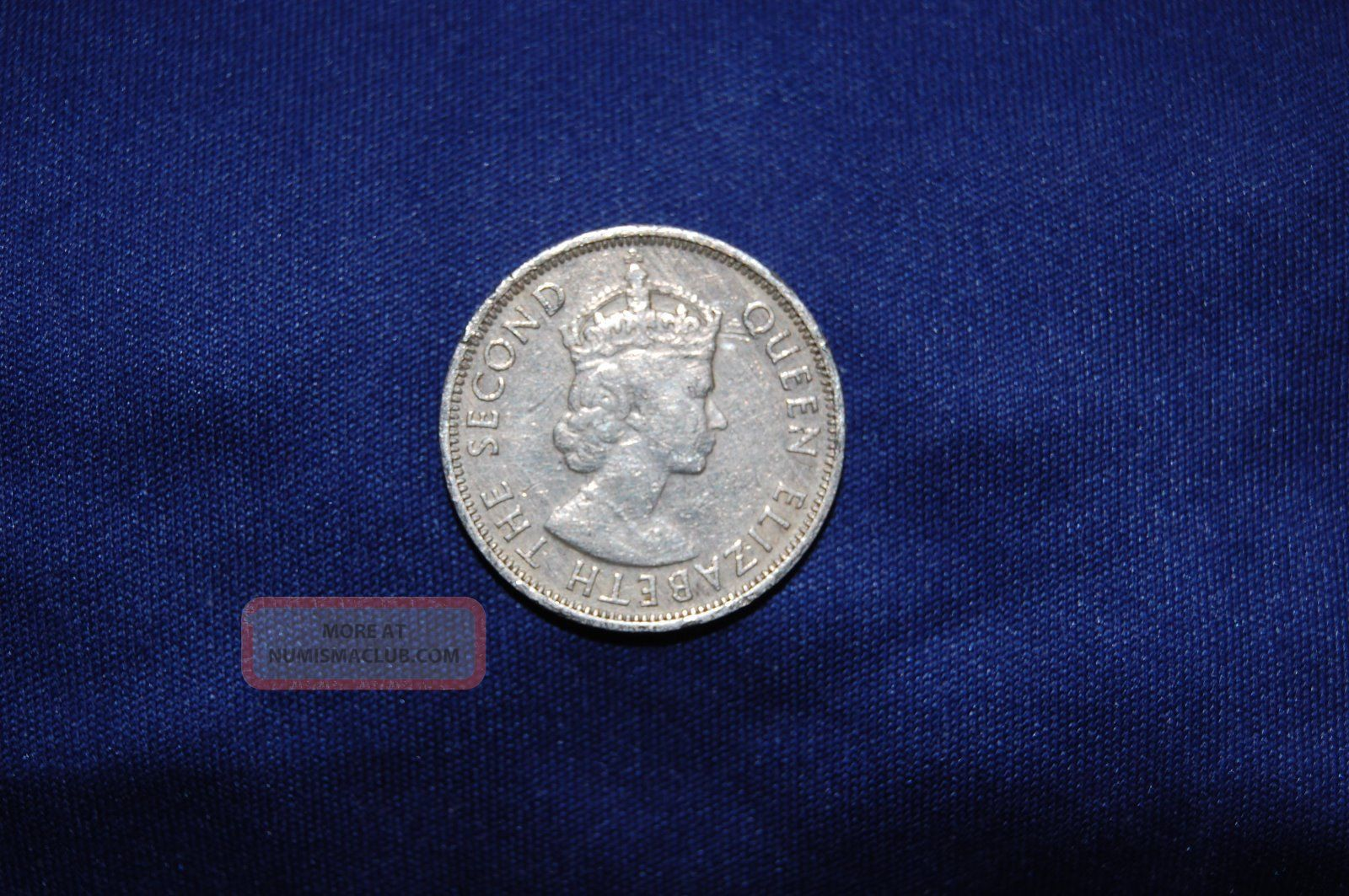 British West Africa 3 Pence, 1957 - H Queen Elizabeth The