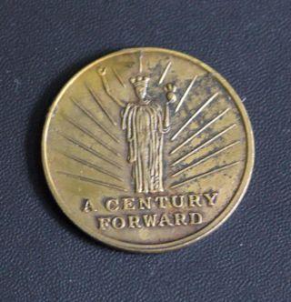Wisconsin Centennial Exposition (1948,  Medal) photo
