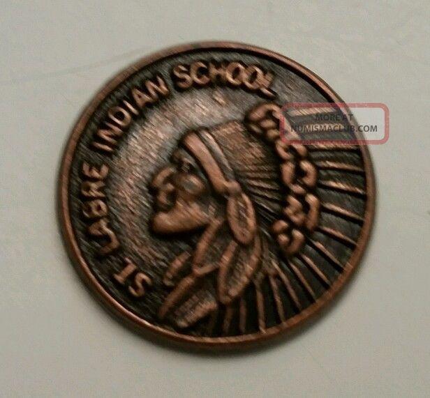 St Labre Indian School Ashland Montana Trade Token