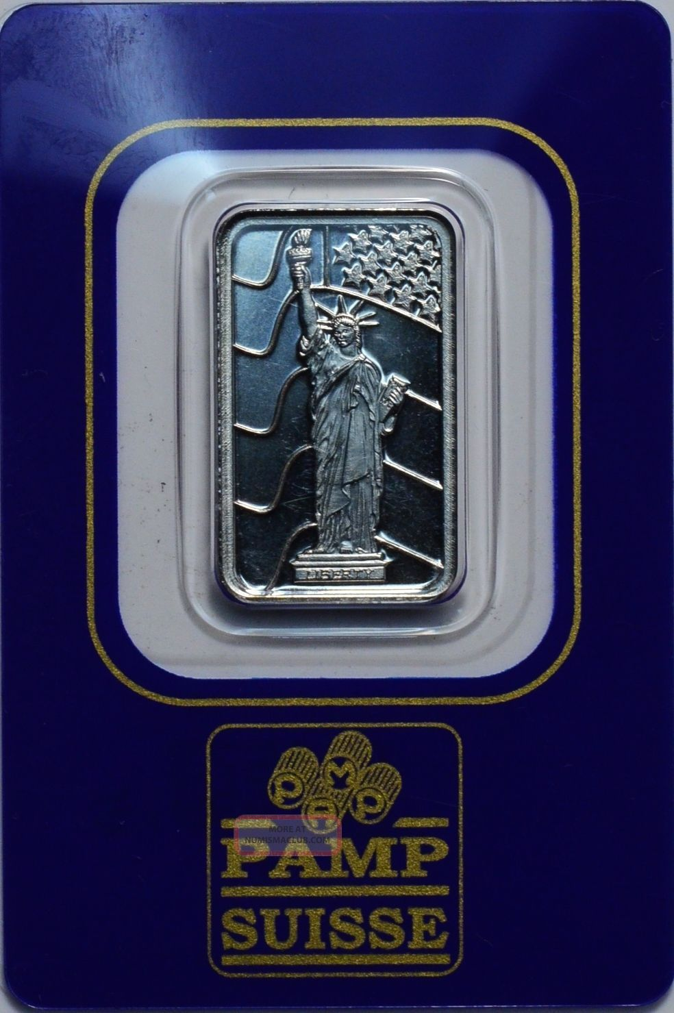 Pamp Suisse 5 Gram 999.  5 Fine Palladium Bar Bullion photo