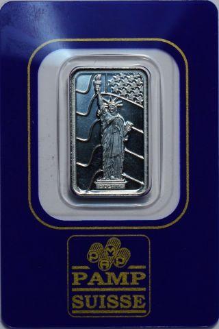 Pamp Suisse 5 Gram 999.  5 Fine Palladium Bar photo