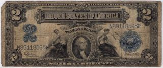 1899 Series $2 Two Dollar