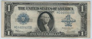 1923 $1 Large Silver Certificate (fr 237) S/h After 1st Item photo
