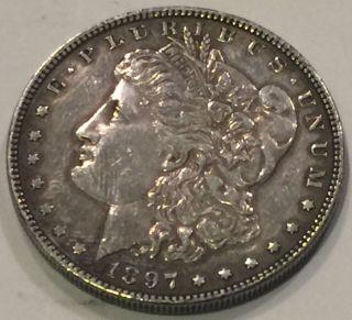 1897 P Morgan Silver Dollar - You Grade It photo