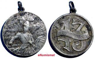 Argentina Patriotic San Martin Tobacco Cigarrettes Silver Medal