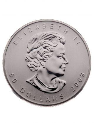 2009 $50 Palladium Canadian Maple Leaf Coin.  9995 1 Oz.  (bu) photo