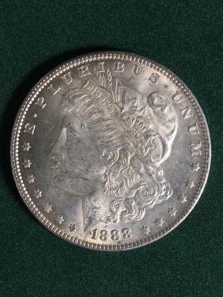 1888 $1 Morgan Silver Dollar photo