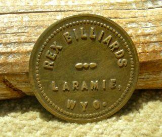 1900s Laramie Wy.  Wyoming (albany Co)