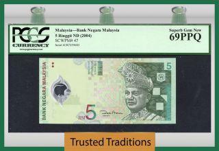 Tt Pk 47 2004 Malaysia 5 Ringgit