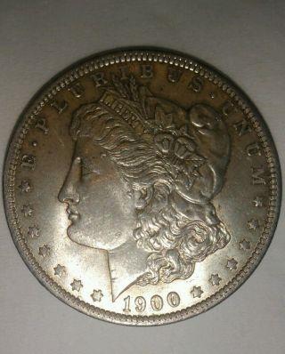 1900 - O $1 Morgan Silver Dollar photo