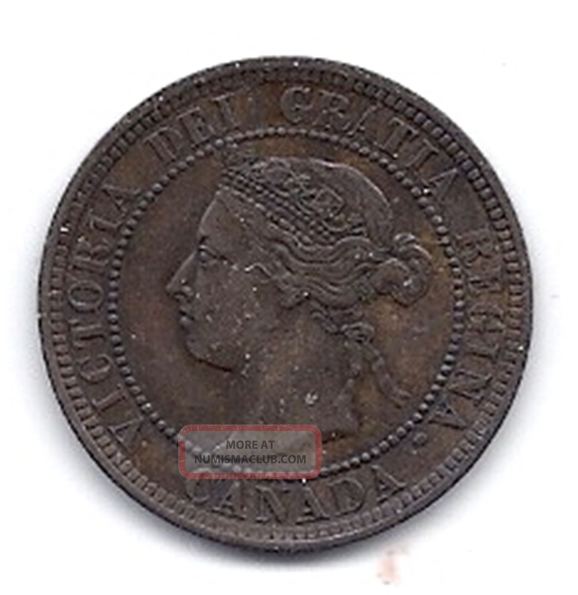 Canada - One Cent - 1888 - Km - 7 - Almost Uncircuted - Coin. Coins: Canada photo