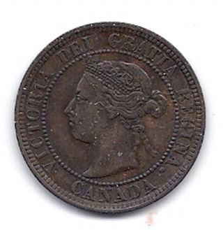 Canada - One Cent - 1888 - Km - 7 - Almost Uncircuted - Coin. photo