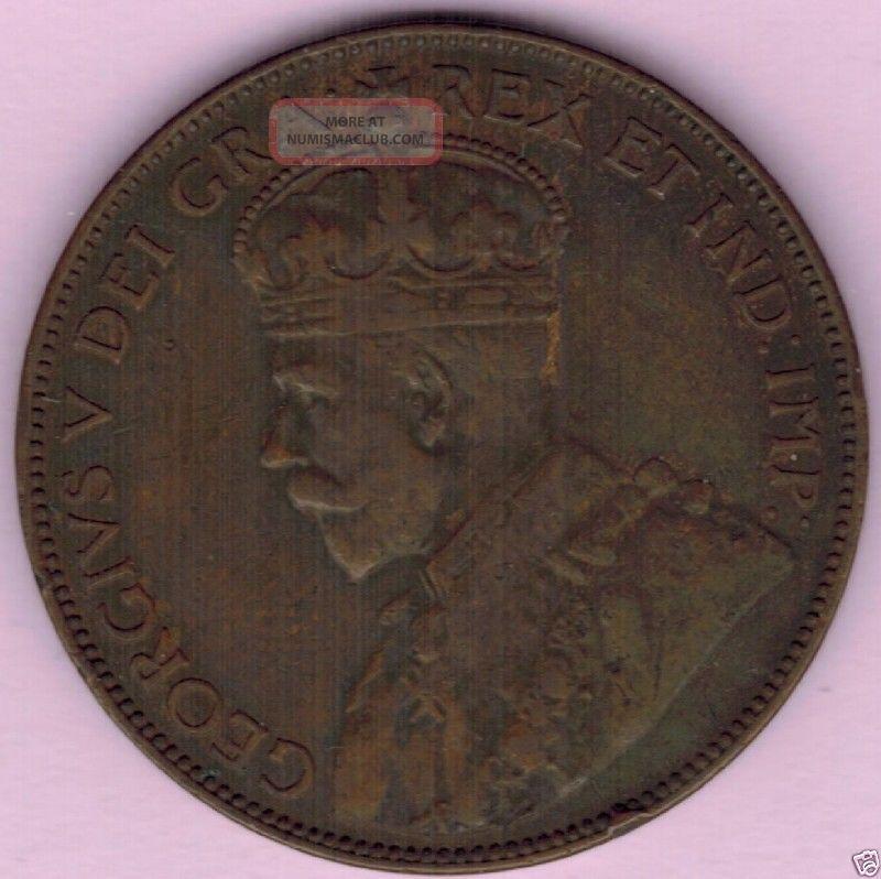 1936 Canada Newfoundland Large Cent Mintage 300,  000 Coins: Canada photo