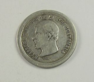 Guatemala Real,  1867,  Circulated/uncertified photo