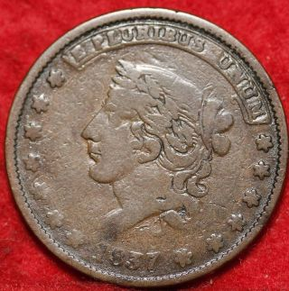 1837 Hard Times Token photo