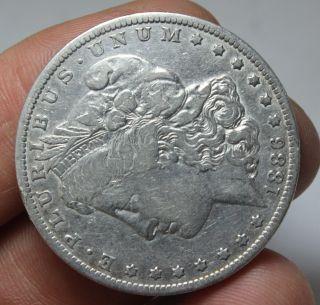 1884 - S Morgan Silver Dollar Coin photo