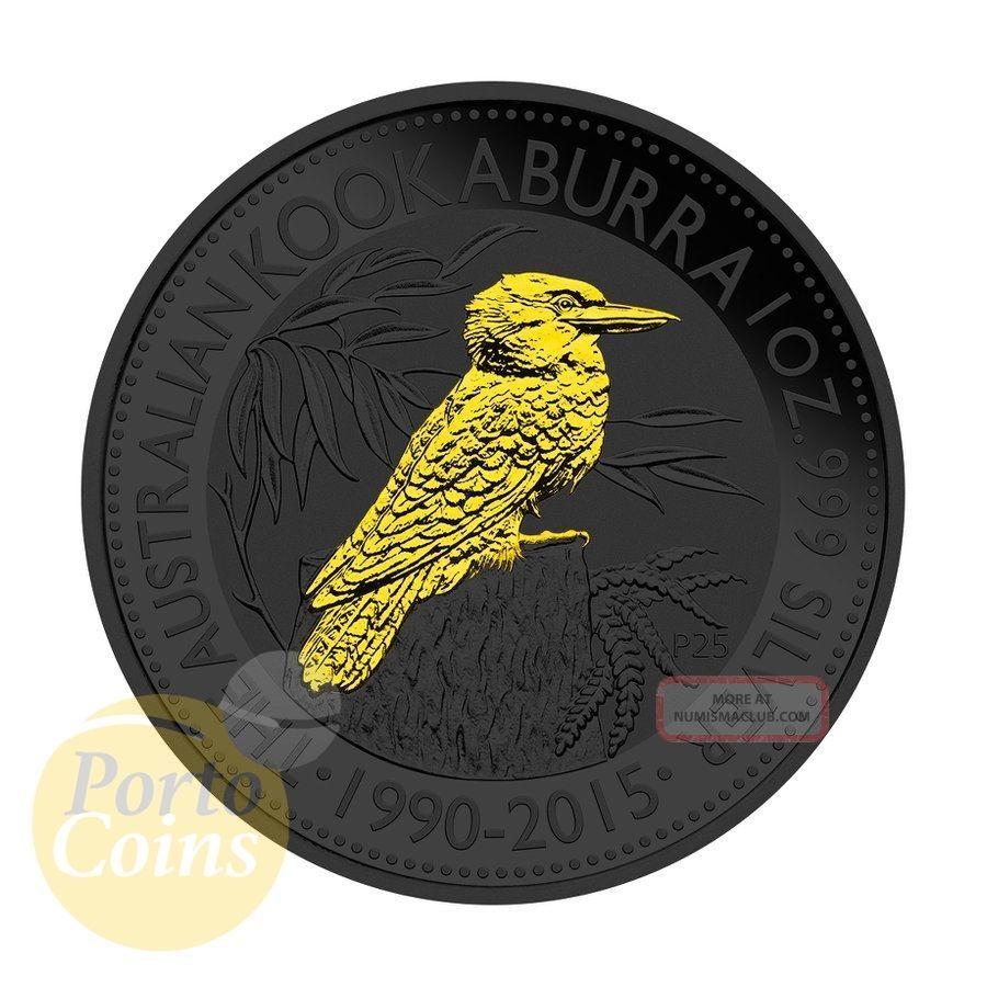 2015 1oz 1 Australian 999 Fine Silver Kookaburra
