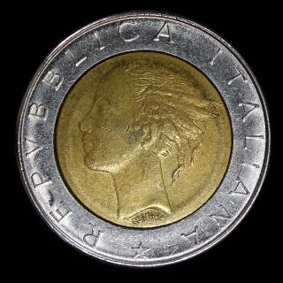 1982 Italy 500 Lire photo