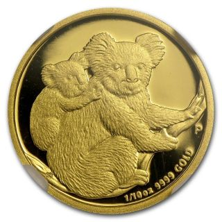 2008 - P Australia Proof 1/10 Gold Koala $15 Ngc Pf69 Ultra Cameo photo