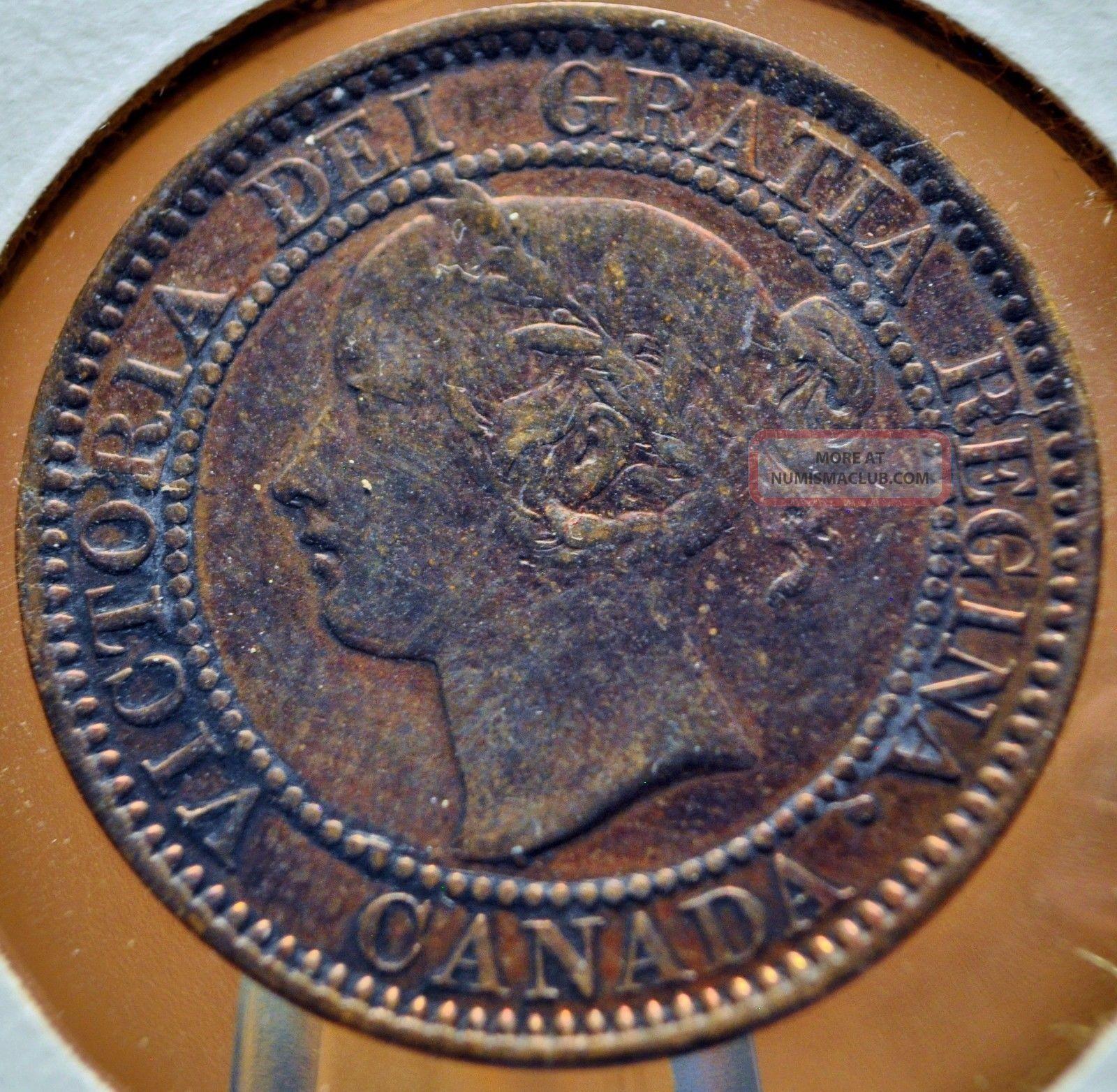 Canada,  1859 - Large Cent - Ef Details Europe photo
