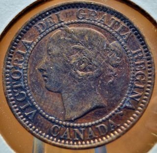 Canada,  1859 - Large Cent - Ef Details photo