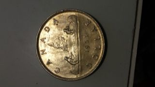 1953 Canadian Dollar Coin photo