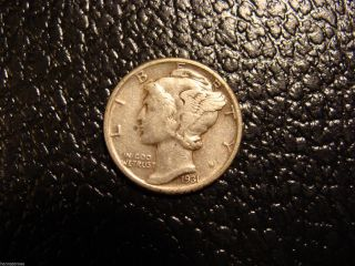 Better Date 1931 Mercury Dime Xf We Combine On photo