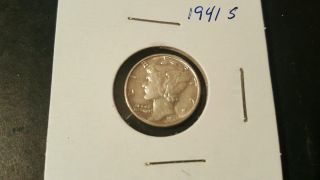 1941 S Mercury Dime Silver Uncirculated photo
