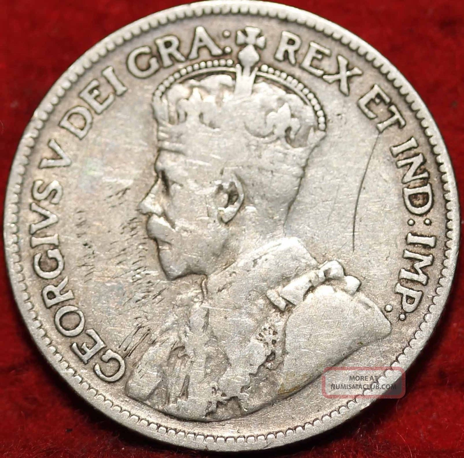 1934 Canada Silver 25 Cents Foreign Coin S/h Coins: Canada photo
