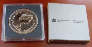 1587 - 1987 Silver Canada $1 Dollar Proof photo