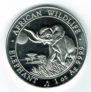 2016 Somali Republic 1 Oz Proof - Like 100 Shilling Silver Coin photo
